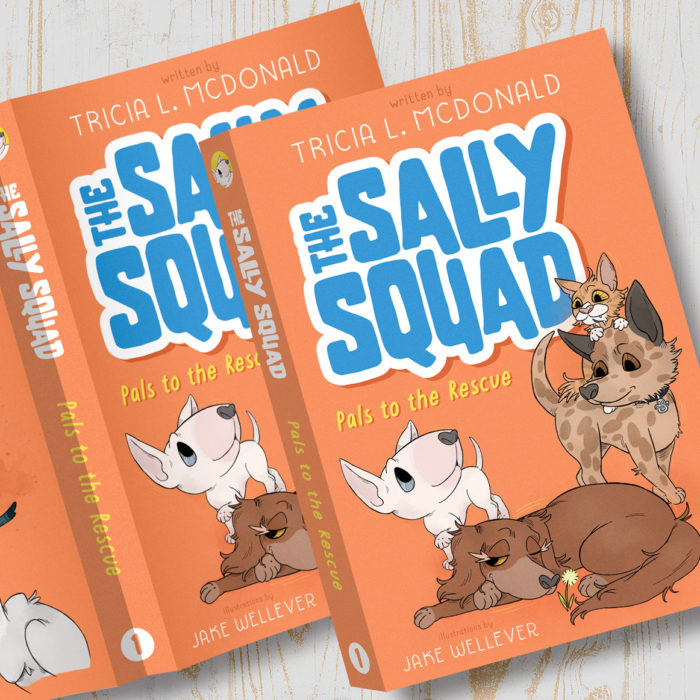 When Sally hears voices in the airplane cargo area, she is annoyed that the trip to meet her new family is interrupted by nonsense chatter.